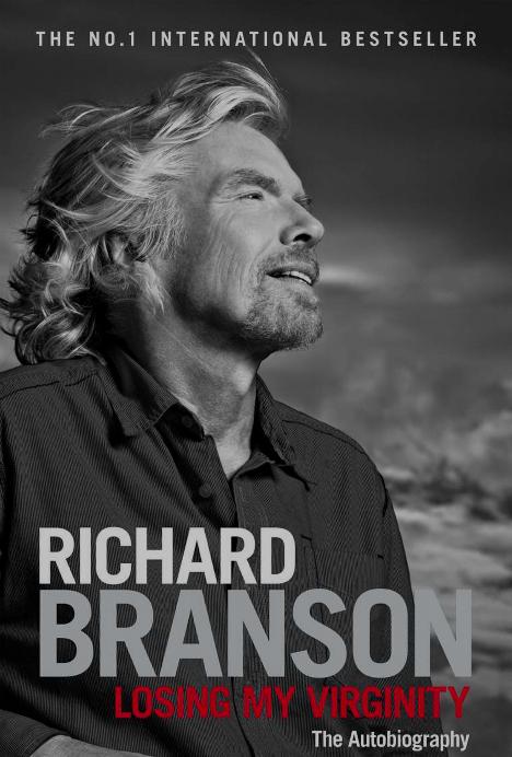 Richard Branson - Loosing My Virginity Cover