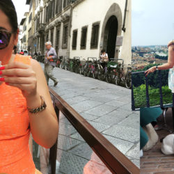 Florence cover with 2 friends and a frenchie