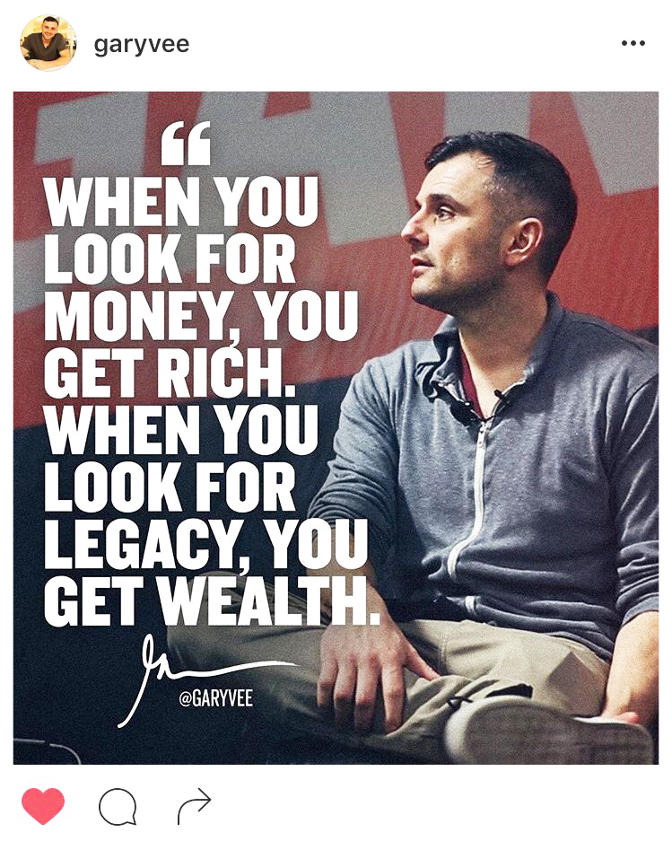 Quote of the Day - Gary Vee